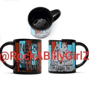 Star Wars Millennium Falcon Never Tell Coffee Mug